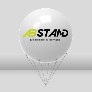 abstand stand ballon air captif gonflable