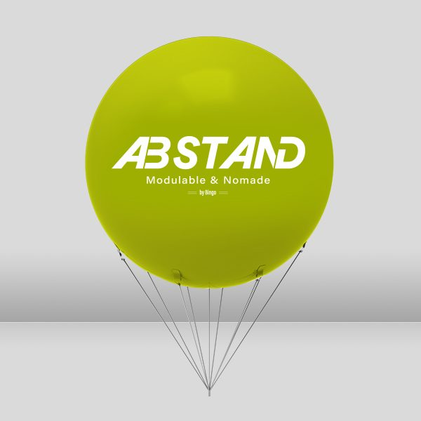 abstand stand ballon helium gonflable
