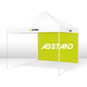 abstand tente aluminium acier evenement