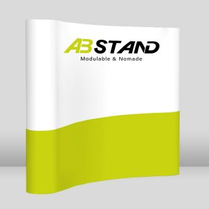 abstand stand parapluie courbe mur image